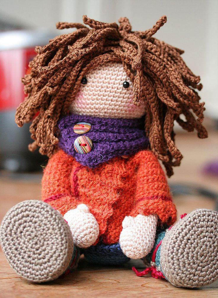 Ravelry: Doll Monja by CAROcreated design