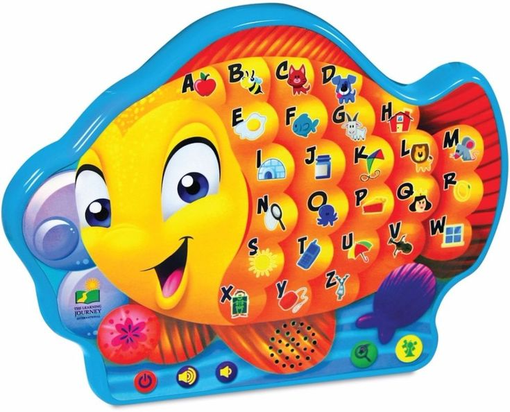 Interactive Alphabet Fish Learning Toy with Engaging Sound Effects 9 x 12 Inches #LearningToy #KidsPlay #Toys #Kids #Interactive #Melodies #Music #Alphabet #Educational #ABC #SkillsDevelopment #Letters
