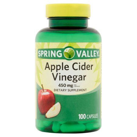 Free 2-day shipping on qualified orders over $35. Buy Spring Valley Apple Cider Vinegar Dietary Supplement Capsules, 450mg, 100 count at Walmart.com