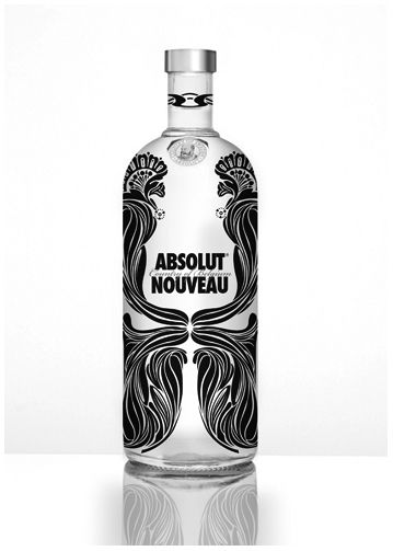 Absolut Vodka Bottles | Absolute Vodka - bottle design 3 design influences - January 2010