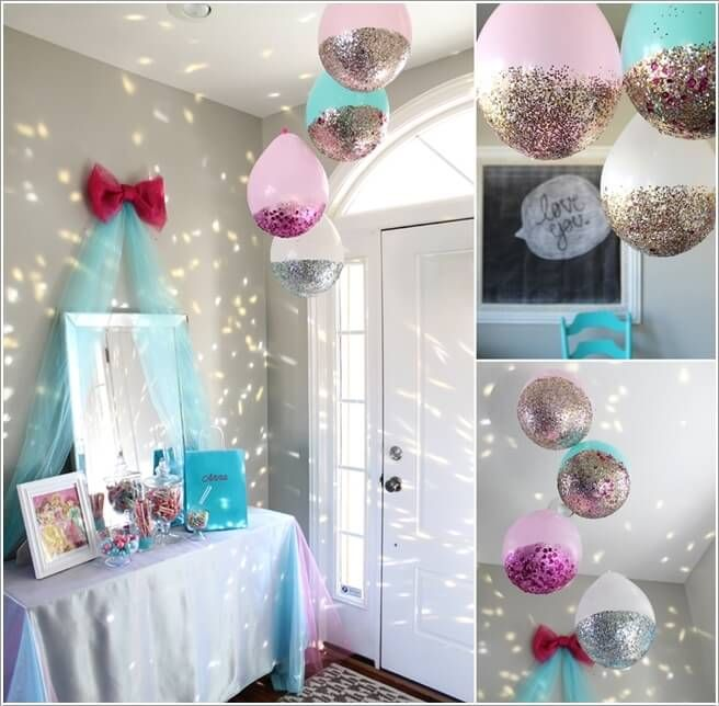 10 super cute slumber party decor ideas 9 birthday party for Home sweet home party decorations