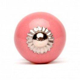 Pomello in Ceramica Vintage Rosa 3 cm 4 € http://www.decochic.it/it/pomelli-rosarosso/2372-pomello-tondo-grande-in-ceramica-rosa.html