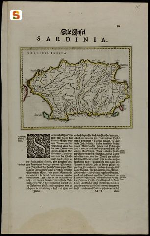 Sardegna DigitalLibrary - Immagini - Sardinia insula