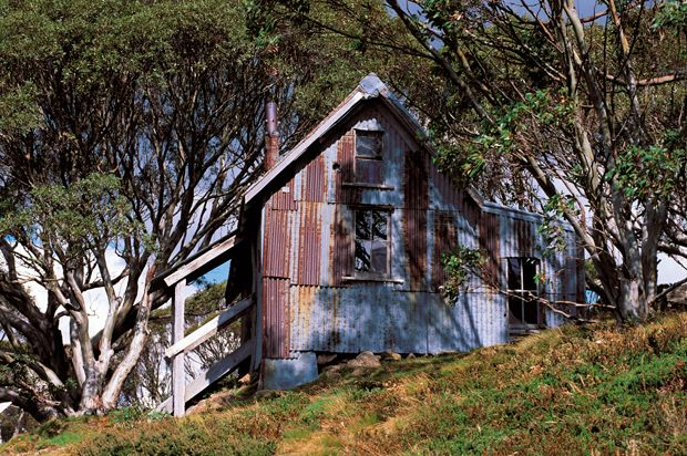 High country huts - Australian Geographic. Cope Hut, Alpine National Park in Victoria. Photo Credit: Don Fuchs