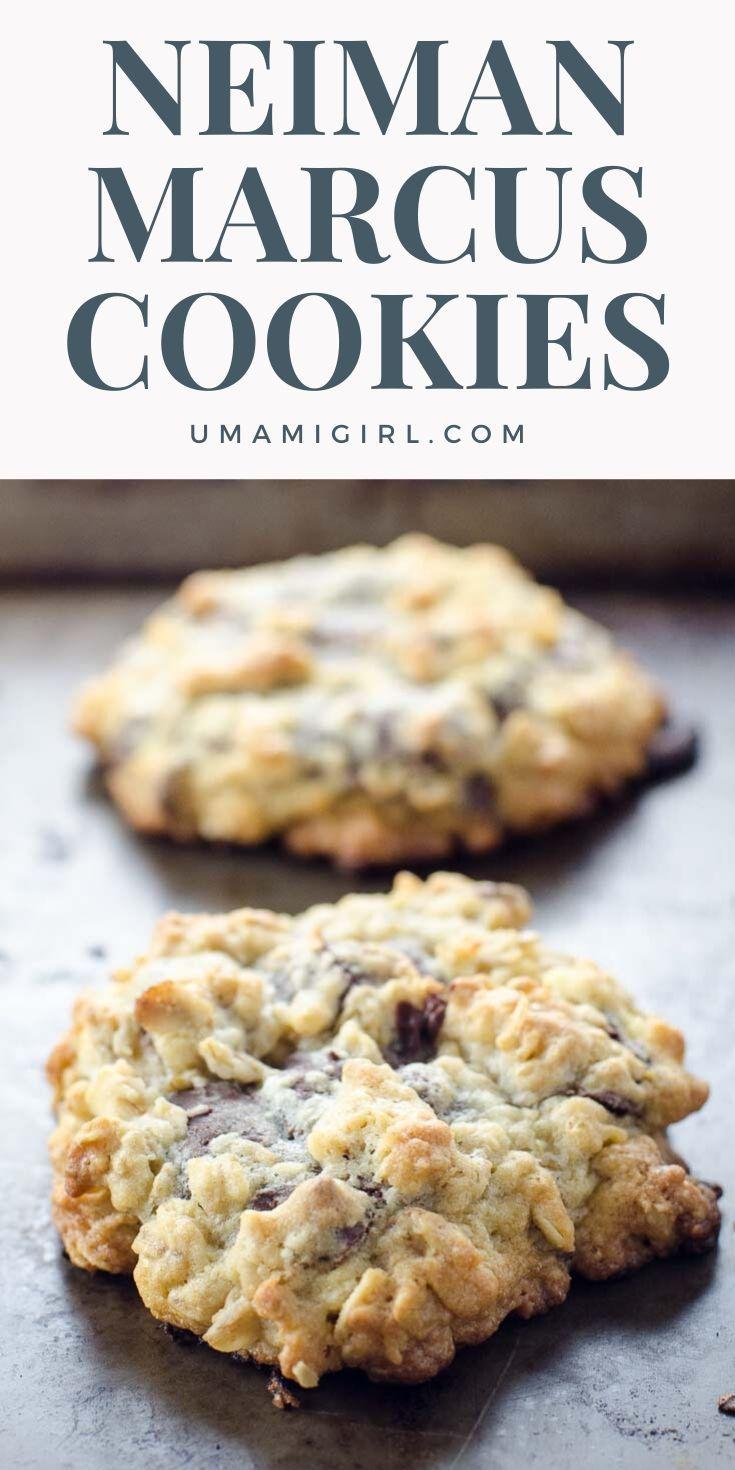 The Neiman Marcus Cookie Recipe Umami Girl Recipe In 2020 Cookie Recipes Cookie Recipes Homemade Best Homemade Cookie Recipe