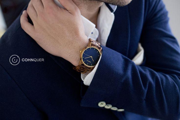 Reloj de Madera COHNQUER ★ Dreamer OZ. Transmite que eres una persona fuerte y segura de ti misma #Moda #Relojes #Fashion
