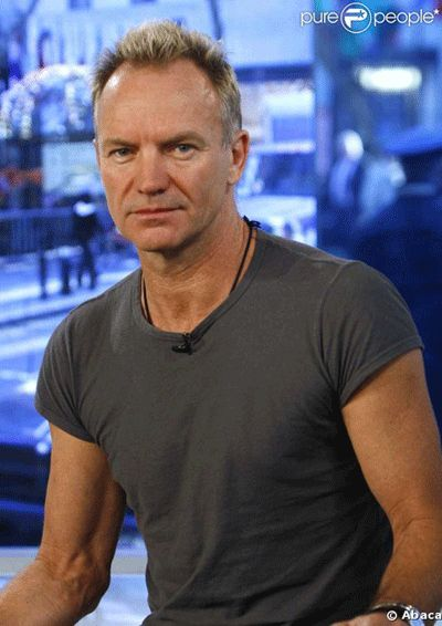 Sting, he's so cool!