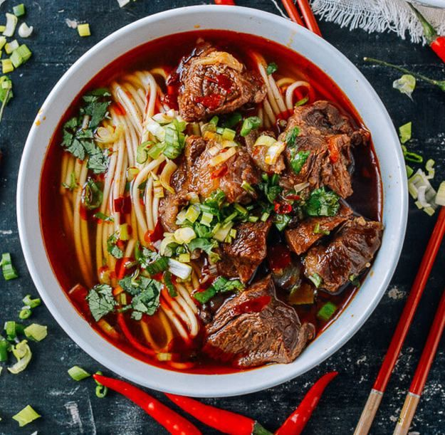 Spicy Beef Noodle Soup | 16 Easy Soup Recipes To Keep You Cozy | The Best Soup Recipes Ever! It's Creamy, Flavorful and Quick To Prepare! | Homemade Recipes : http://homemaderecipes.com/easy-soup-recipes/