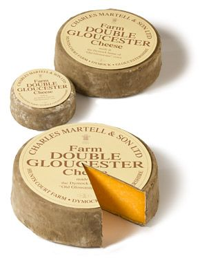 double gloucester - cheese from Great Britain from the milk of endangered Gloucester cows