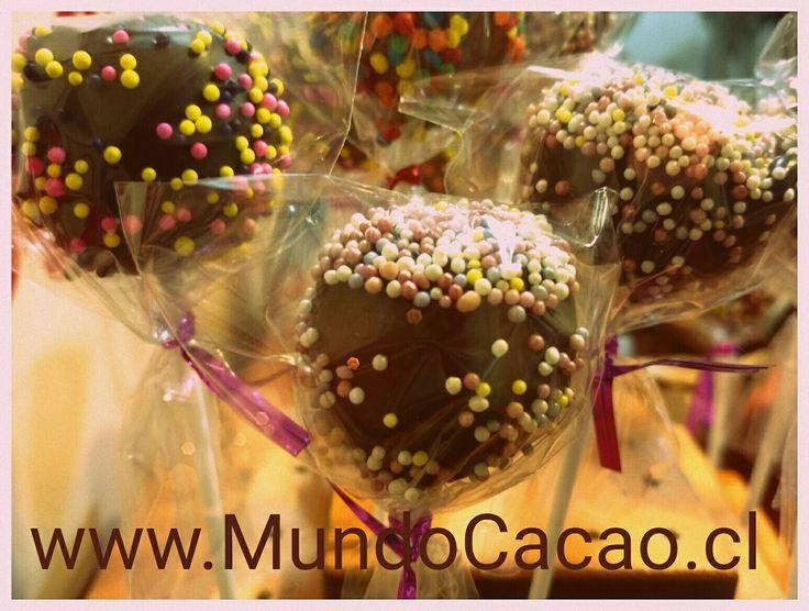 Pop cake de chocolate