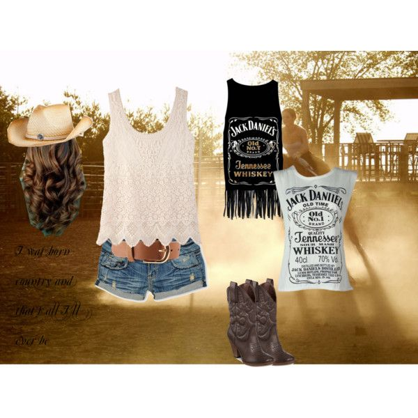 country girl outfits polyvore | fashion look from April 2013 featuring Jack Wills tops, Almost ...