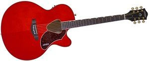 The Gretsch G5022CE Rancher pictured above made it into the Best Acoustic-Electric guitars under $500 roundup.
