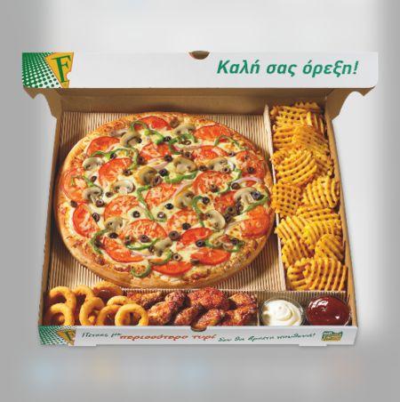 "PIZZA FAN Franchise! Η No1 pizza delivery στην Ελλάδα σε προσκαλεί στο δίκτυό της. Μπες και εσύ στην πιο επιτυχημένη ""οικογένεια"" με πάνω απο 1.300.000 πελάτες και συνεχή αύξηση τζίρου!"