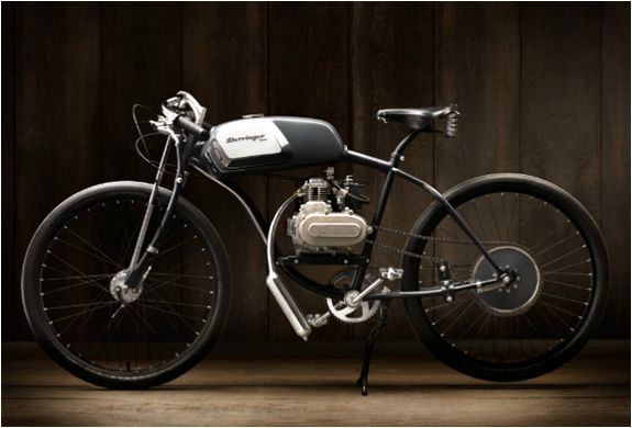 Derringer Cycle X and Restoration Hardware collaboration