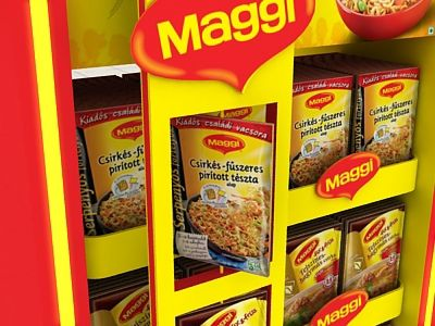 Maggi Display on Behance
