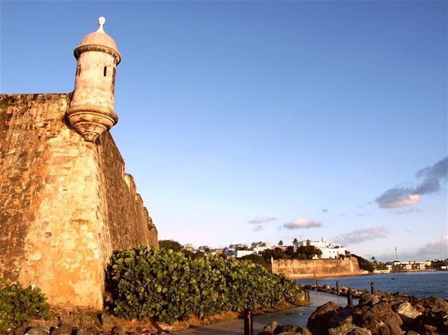 Échauguette au fort San Felipe del Morro