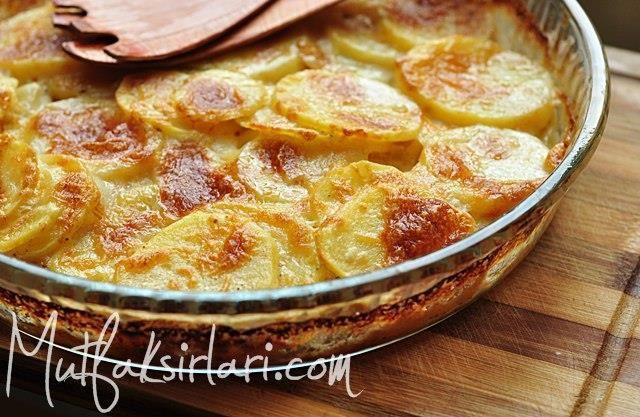 Fırında Kremalı Patates – Mutfak Sırları