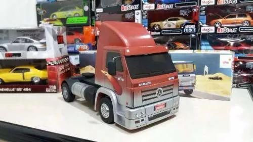miniatura caminhão volkswagen titan 18-310 carga pesada