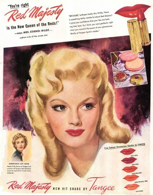 1940s Tangee advert