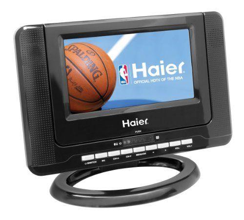Haier HLTD7 7-Inch Handheld HDTV with Built-In DVD Player  Black http://shorl.com/bapryhijudifre