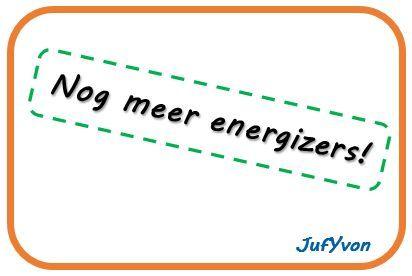 ©JufYvon: Nog meer energizers