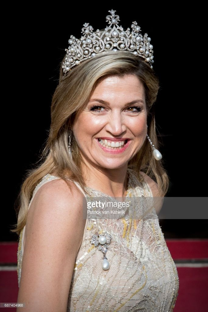News Photo : Queen Maxima of The Netherlands arrives for the...