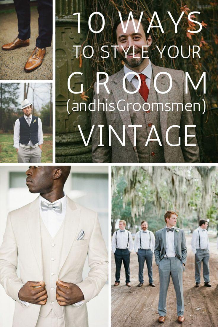 Vintage wedding groom vest - Vintage Wedding Groom Vest 29