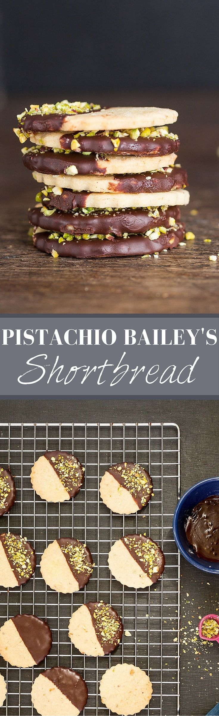 Pistachio Baileys Shortbread | Recipes From A Pantry                                                                                                                                                                                 More