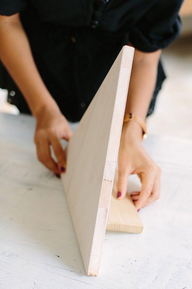 DIY PLYWOOD JEWELRY PYRAMID | a pair & a spare | Bloglovin'