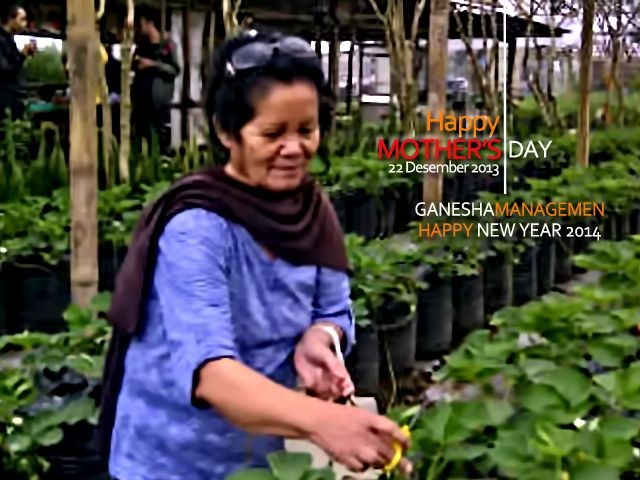 Selamat Hari Ibu 22 Desember 2013.. To All Mother In These World