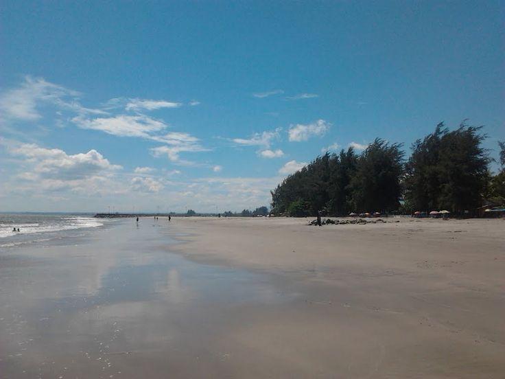 Pantai Gandoriah Panorama Indah di Kota Sala Lauak Sumatera Barat - Sumatera Barat