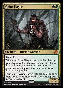 Magic: the Gathering - Grim Flayer - Eldritch Moon PRE-ORDER Ships On July 22nd