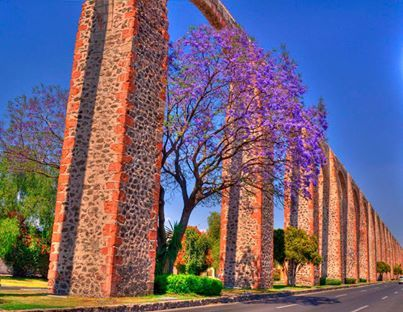 Acueducto de Queretaro, Mexico  - Explore the World with Travel Nerd Nici, one Country at a Time. http://travelnerdnici.com