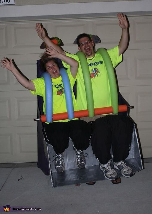 Roller Coaster Ride - Homemade costumes for couples
