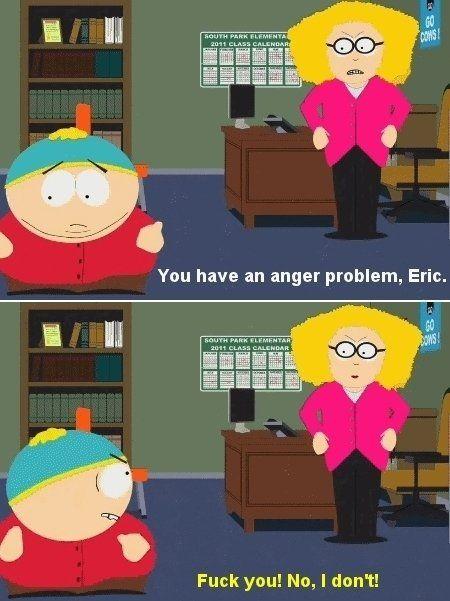 South Park TMI Cartman