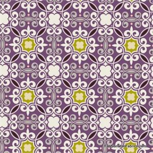 Coquette Romantic Wall Lime by Art Gallery Fabrics