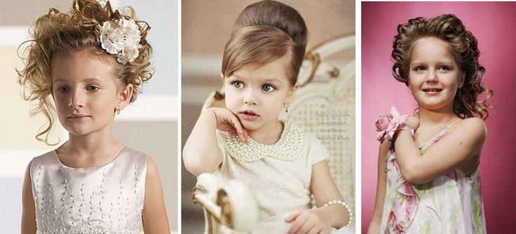 Причёски на свадьбу для девочек