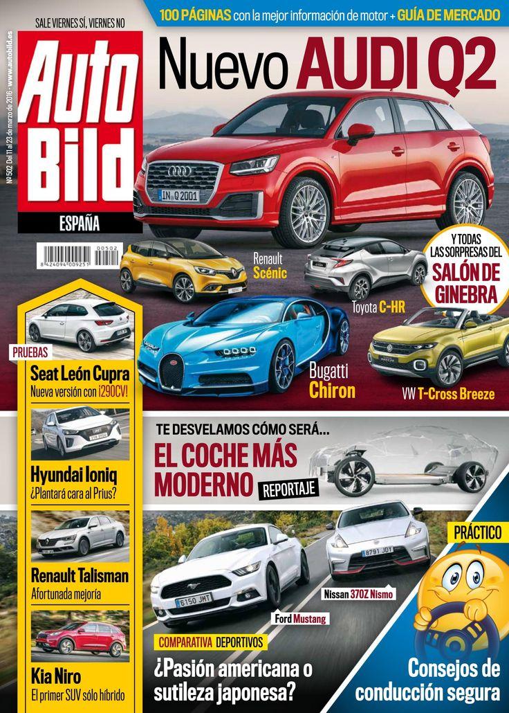 Revista #Autobild 501. Todas las sorpresas del Salón de Ginebra. Seat León Cupra. Consejos de #conducción segura.