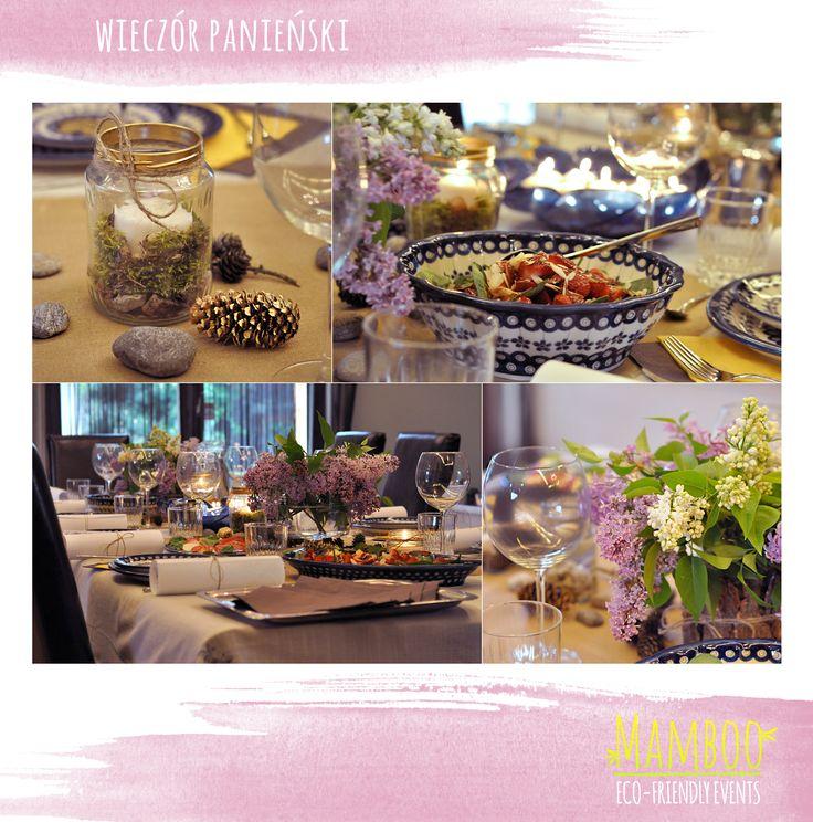 Bachelorette dinner / Wieczór panieński - kolacja