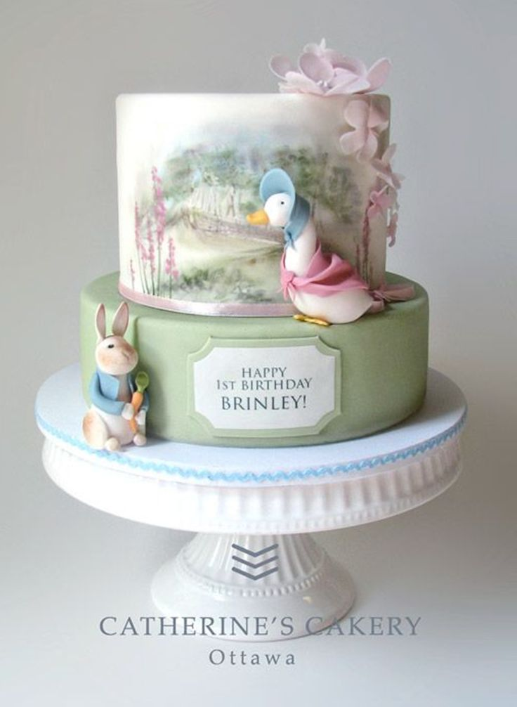Mother Goose Baby Shower | Artisan Cake Company