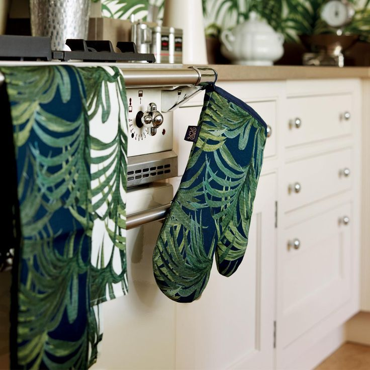 We love these House of Hackney kitchen linens, perfecting for adding a splash of colour to any kitchen