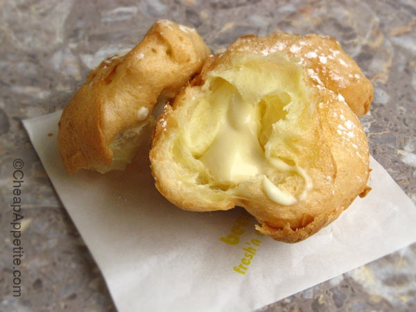 Don't forget to eat the cream puff @ Beard Papa's