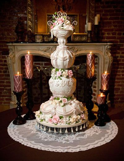 of course the most ostentatious cake possible is necessary