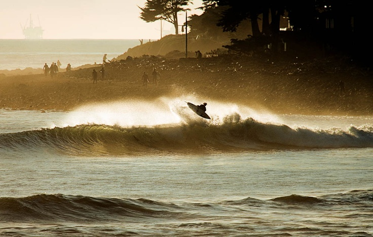 Surfing in Rincon, PR