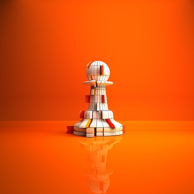 #PawnDeconstructed #PremiumChess #art #illustration #3Dartwork #3Ddesign #chess #LikeableDesign #chesspieces #chessart ♕ ♔ ♖ ♗ ♘ ♙