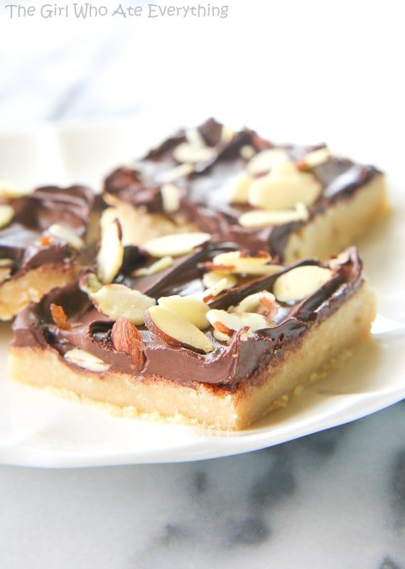 Almond Roca Bars   The Girl Who Ate Everything