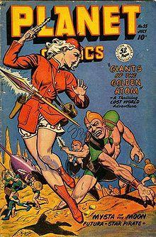 super troopers itunes cover | Copertina della rivista Planet Comics , luglio 1948 (illustrazione di ...
