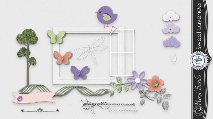 Sweet Lavender Elements