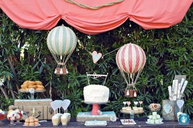 """""""Fly Away With Me"""" Dessert Table"""