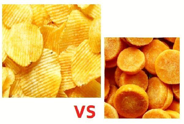 Czym zastąpić chipsy? Marchewką w przyprawach! Więcej na: https://www.fitomento.com/wiedza/zdrowe-zamienniki